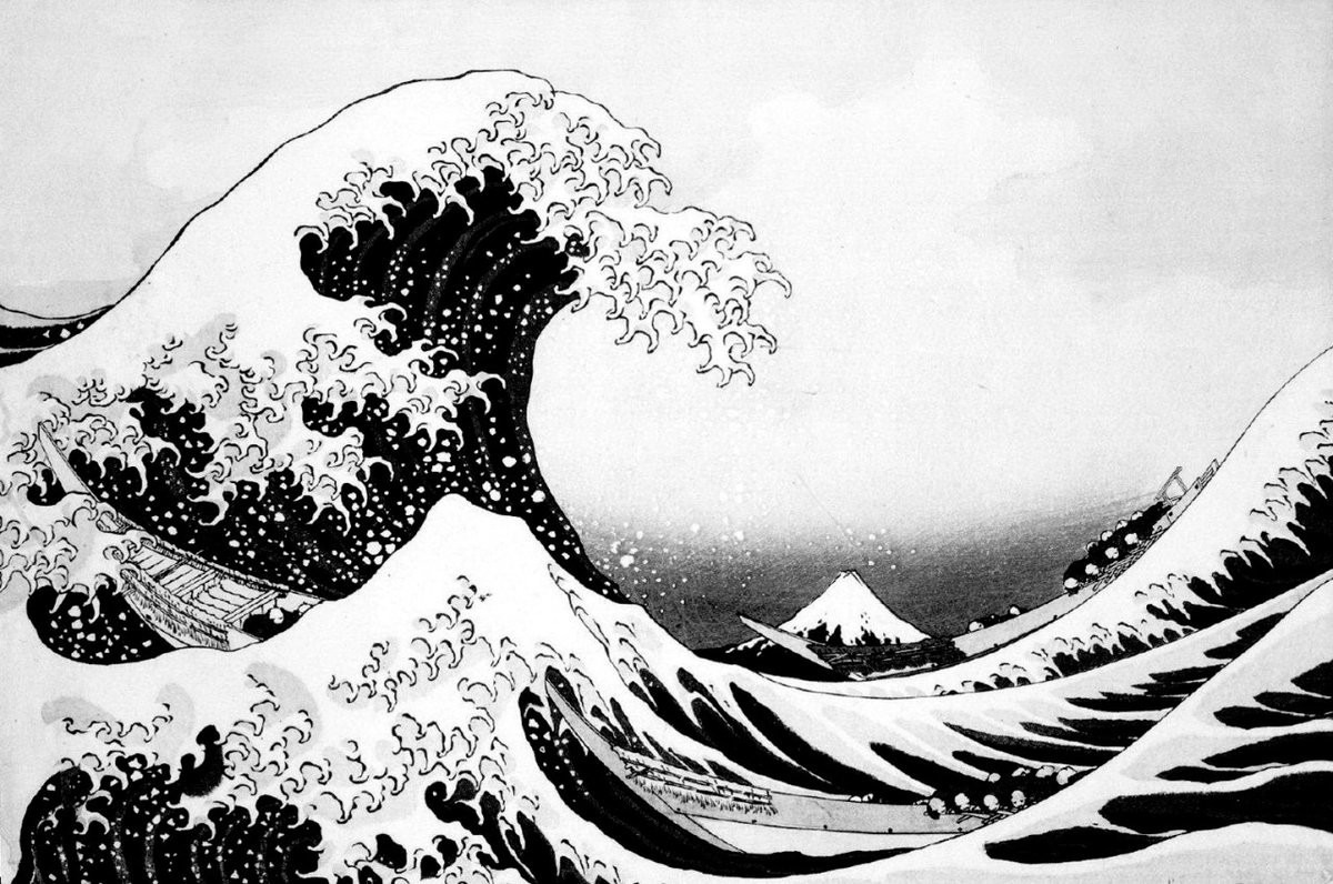 hurting-during-black-and-white-japanese-art